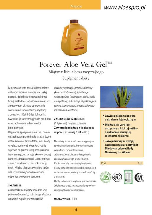 Forever aloes aloespro.pl
